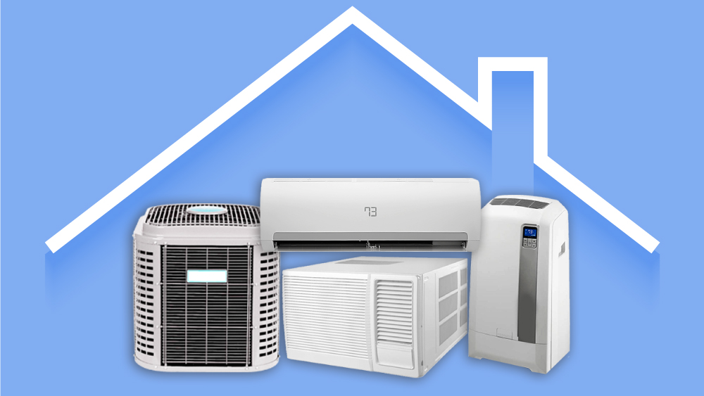 What are the Three Main Different Kinds of Air Conditioning?
